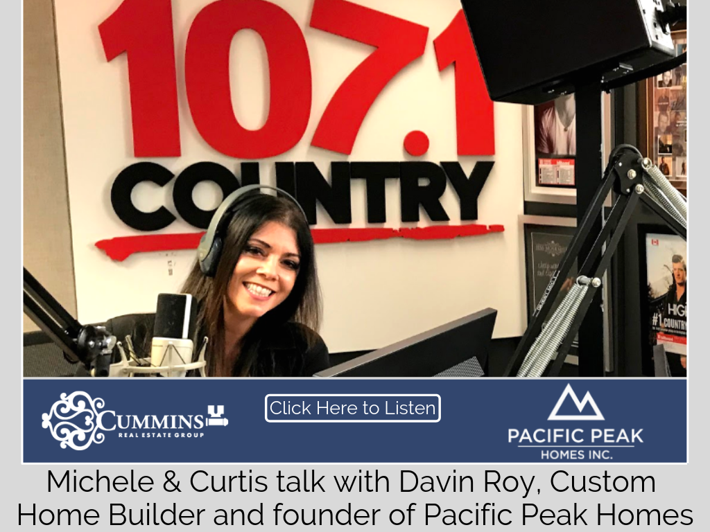 Michele talks with Davin Roy of Pacific Peak Homes