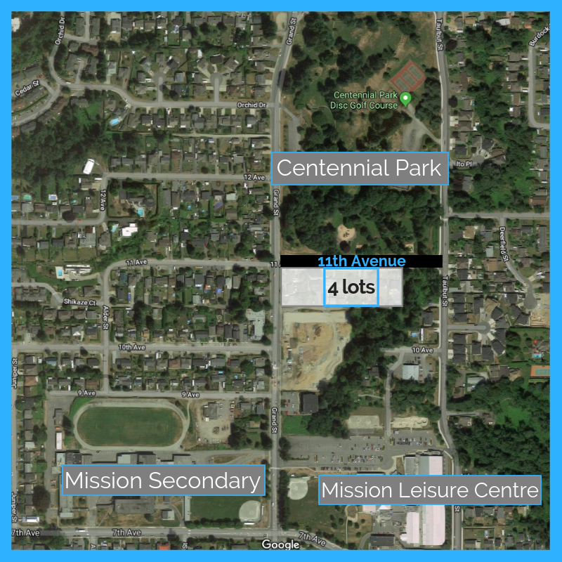 11th Ave Land Assembly in Mission BC