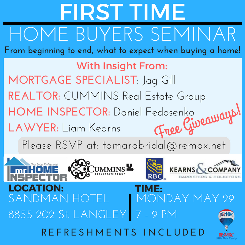1st Time Home Buyers Seminar