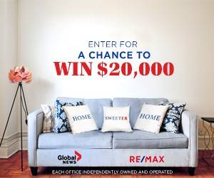 Act now to Win $20,000 to sweeten up your home!