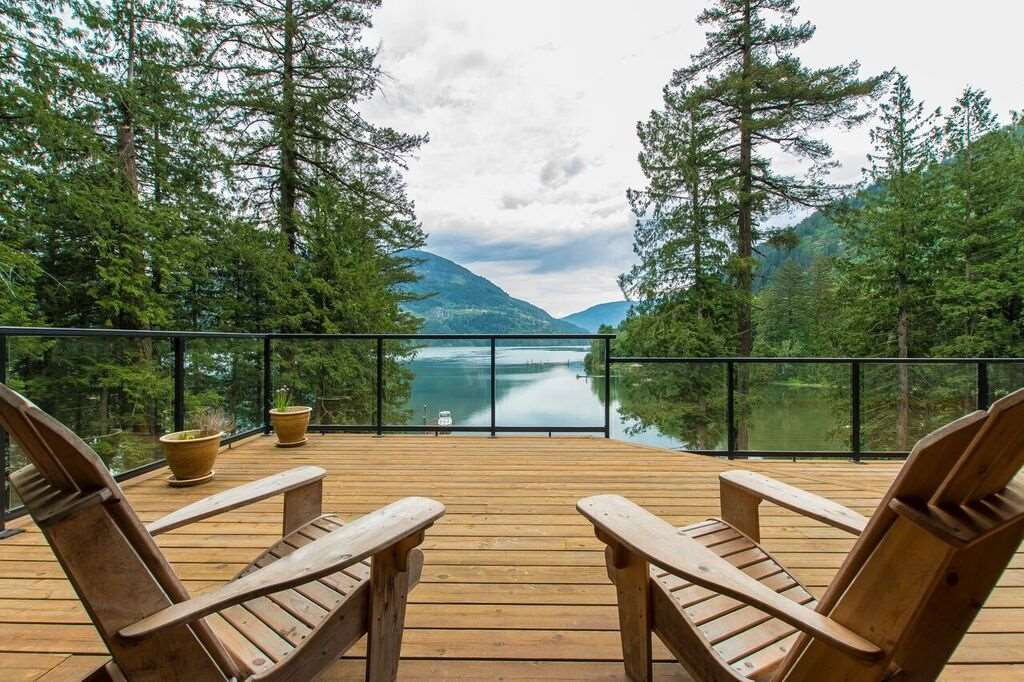 Stunning Waterfront Property on Harrison River