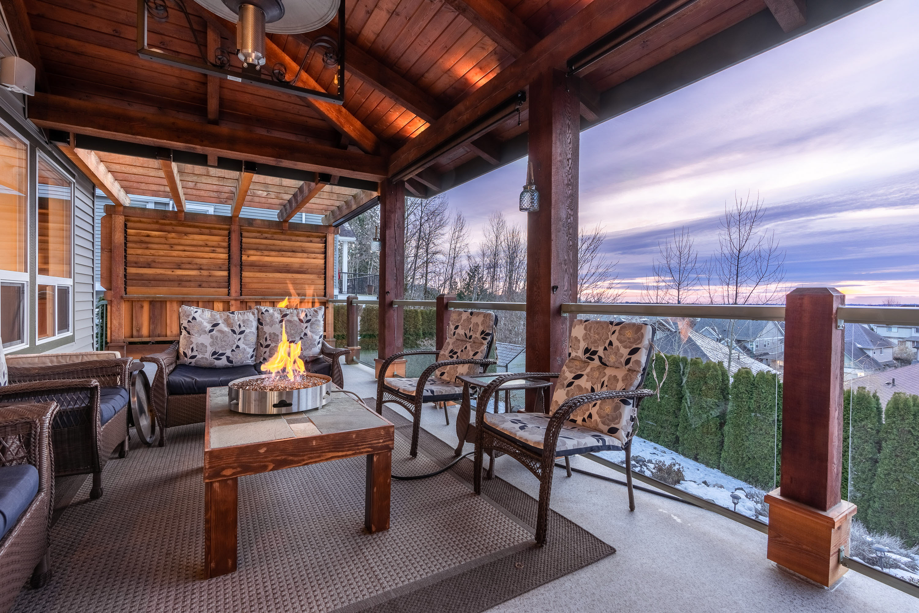 Whistler Meets Tuscany in This Luxury Home With Stunning Sunset Views!