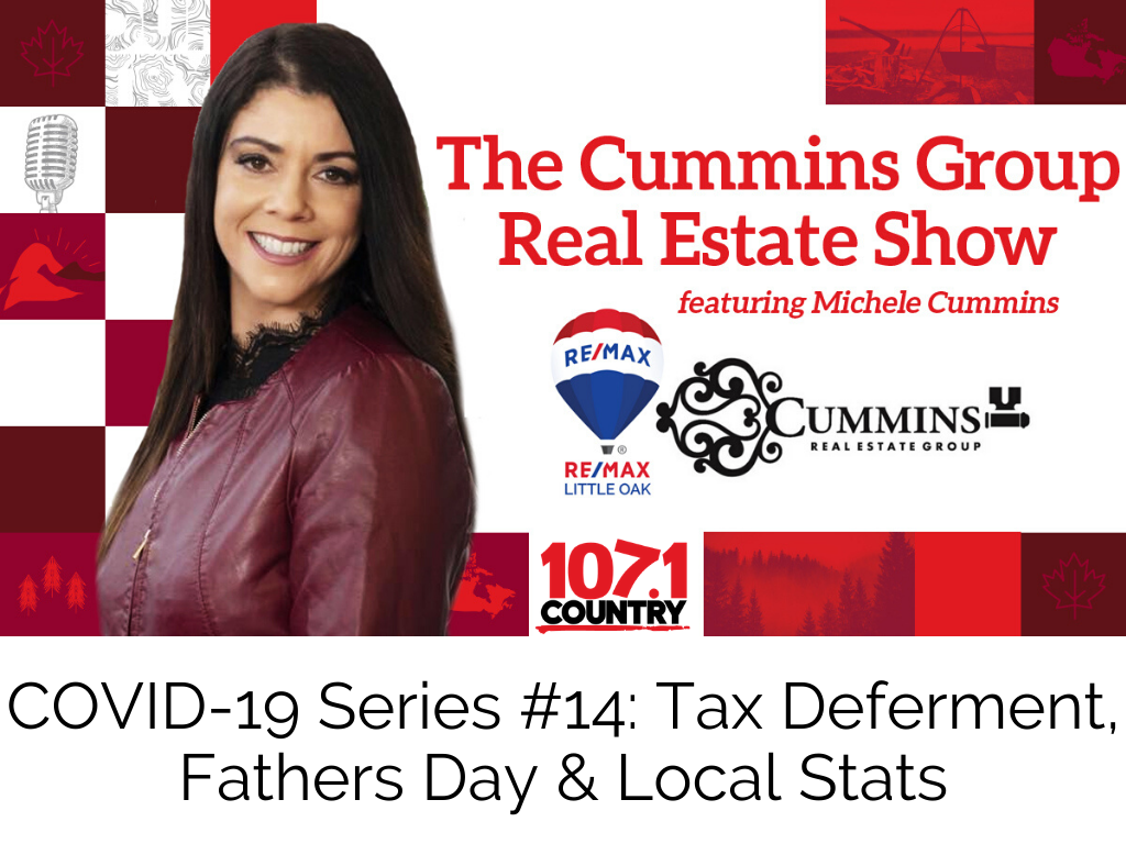 COVID-19 Series #14: Tax Deferment, Fathers Day & Local Stats