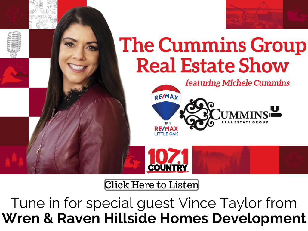 Michele has Vince Taylor on from the Wren & Raven Hillside Homes Development