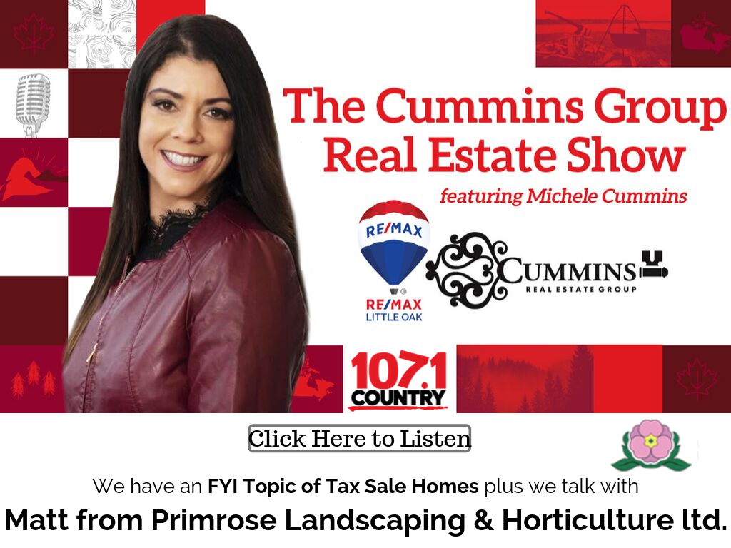 FYI Topic of Tax Sale Homes plus Matt from Primrose Landscaping & Horticulture ltd.