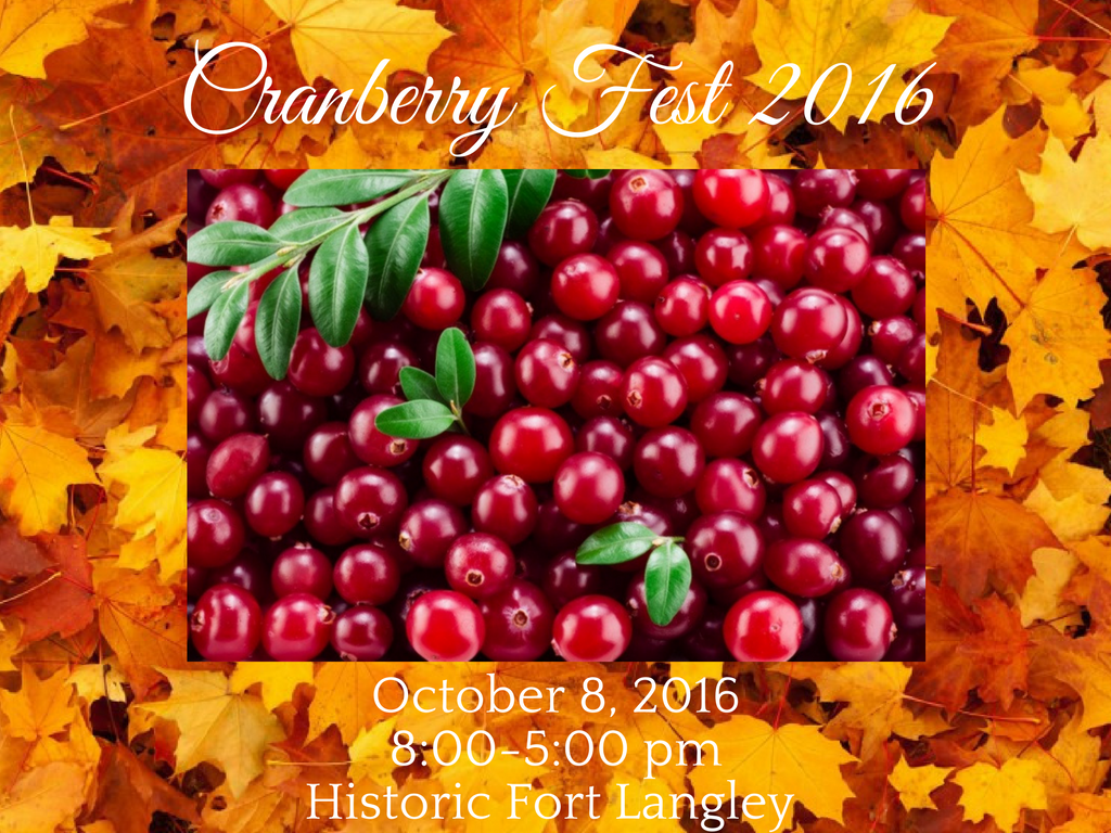 Come Celebrate the 21st Annual Cranberry Festival!