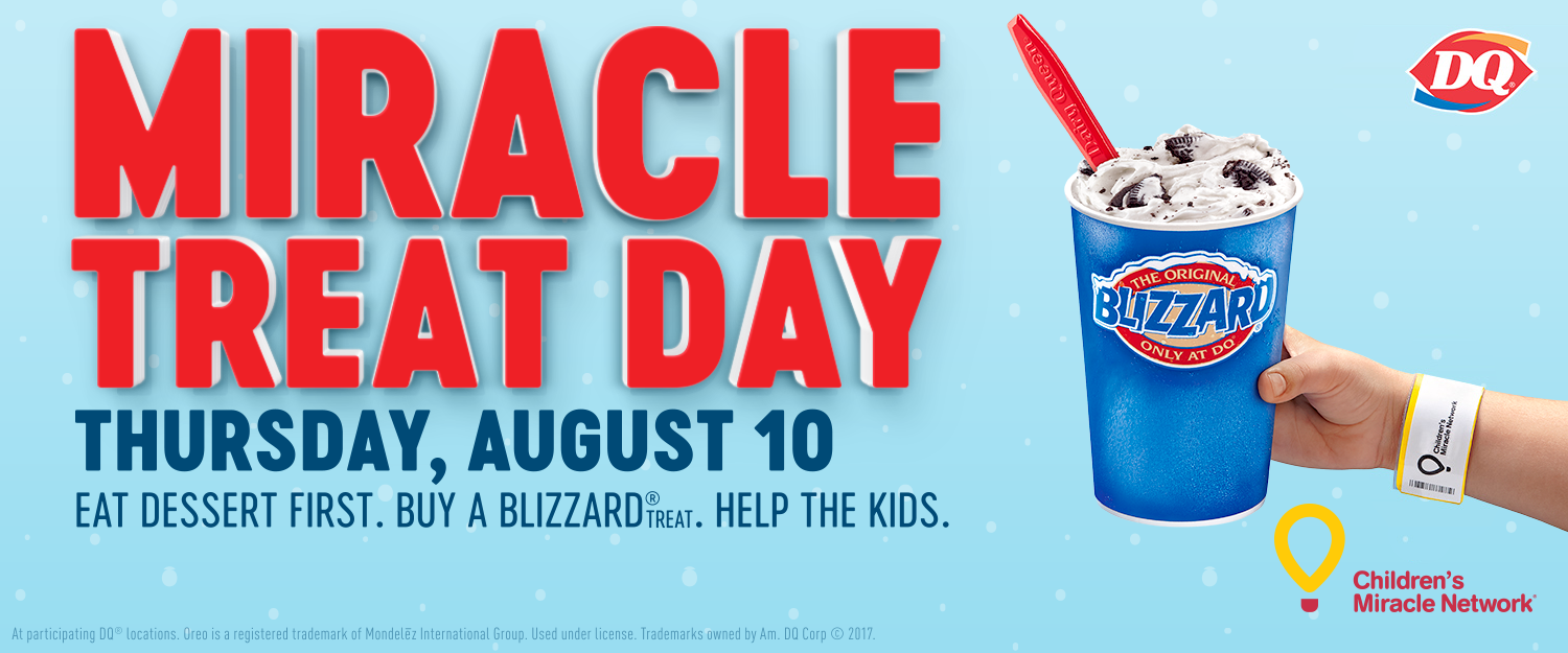 Miracle Treat Day - Support a great cause with a Tasty Treat!