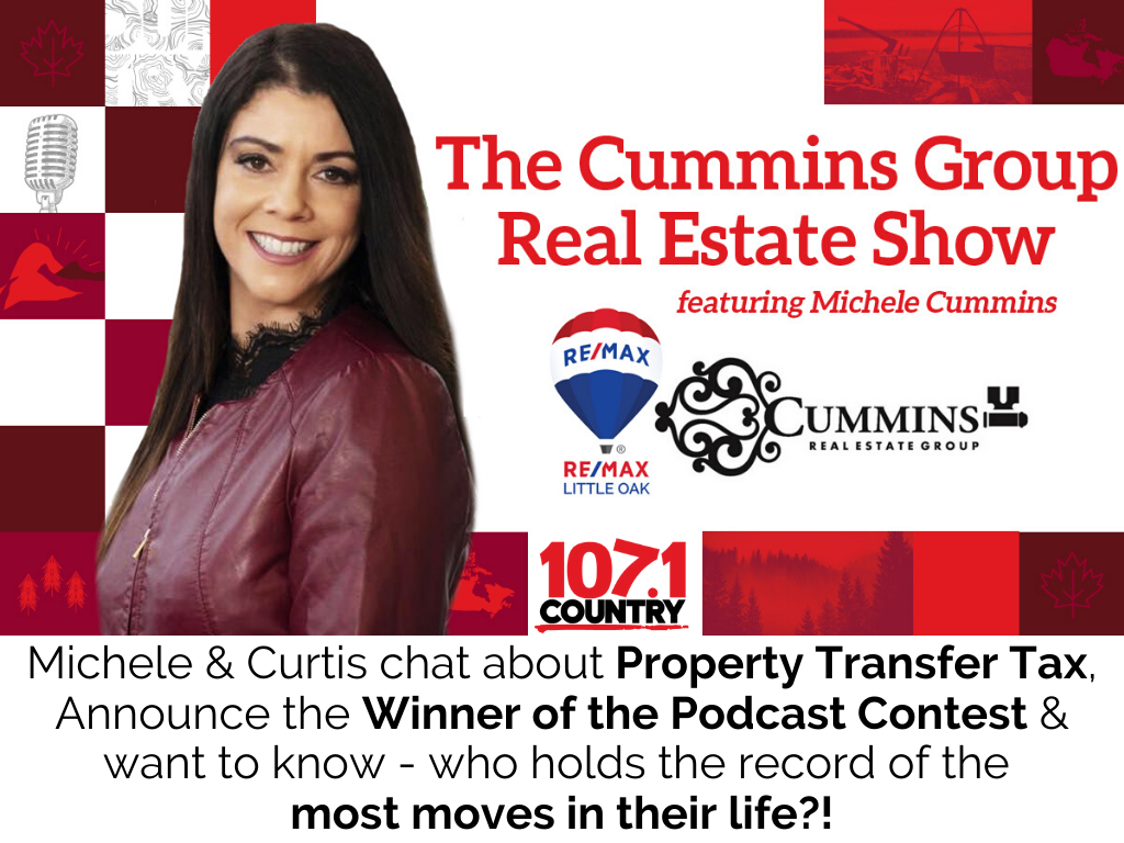 Michele & Curtis talk Moving, Podcasts & Property Transfer Tax
