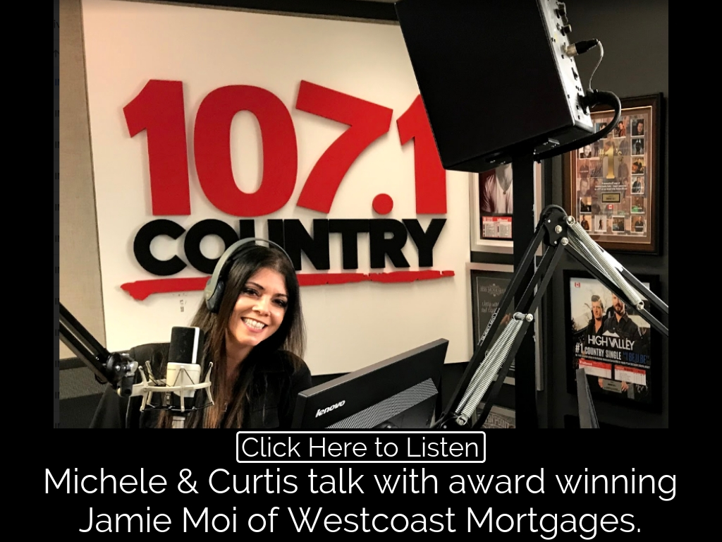On 107.1FM Michele & Curtis talk Mortgages with award winning Jamie Moi