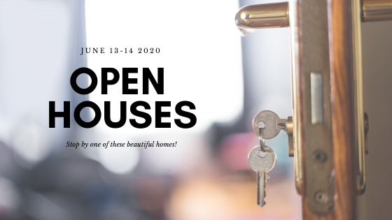Open Houses This Weekend (June 13-14)