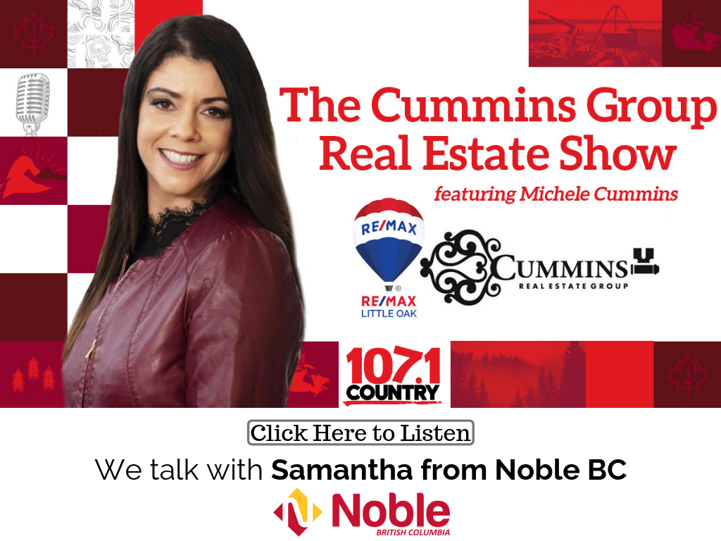 Michele Talks with Samantha from Noble BC