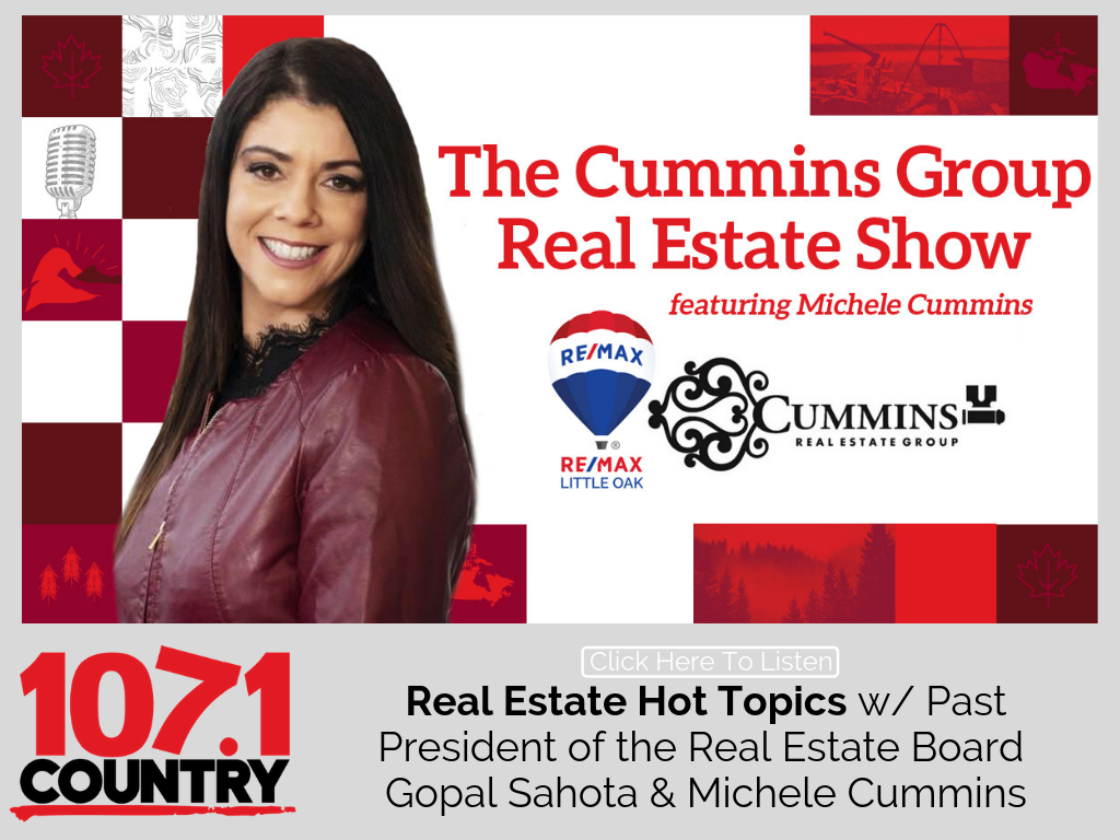 Michele Talks about Real Estate Hot Topics with Past President of the Real Estate Board Gopal Sahota
