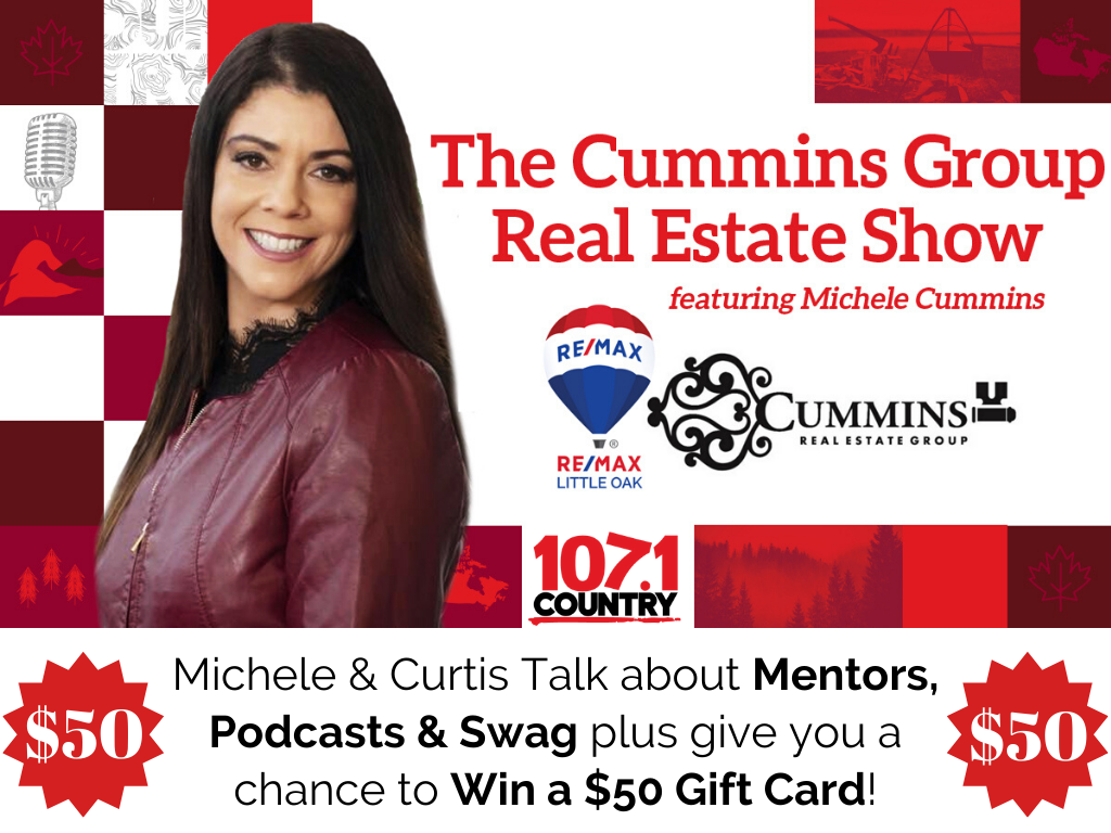 Michele & Curtis Announce how to win a $50 Gift Card & Talk about Mentors, Podcasts & Swag