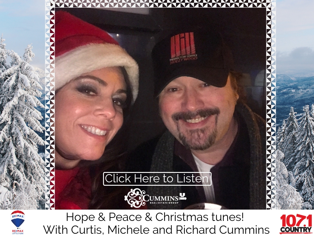 Hope & Peace & Christmas Tunes on Country 107.1FM