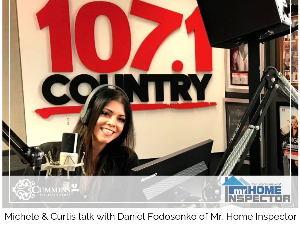 Michele checks in with Daniel of Mr. Home Inspector
