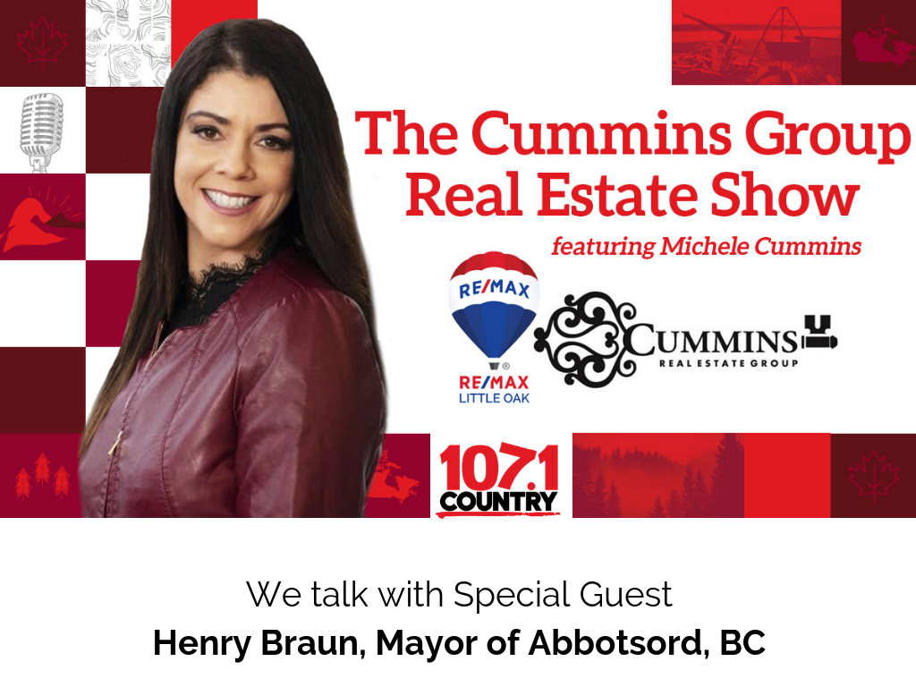 Michele Talks with Abbotsford Mayor Henry Braun