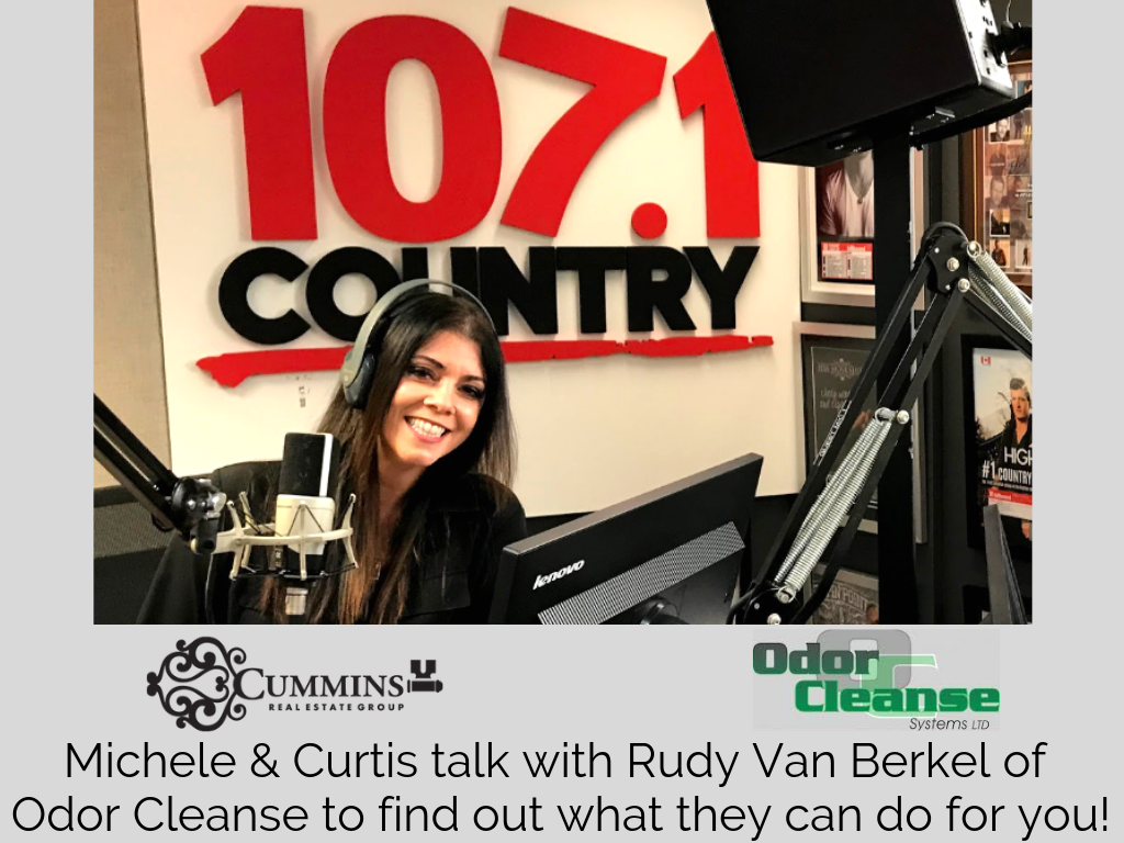 Michele talks with Rudy from Odor Cleanse