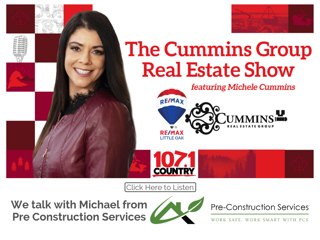 Michele talks with Michael from Pre-Construction Services