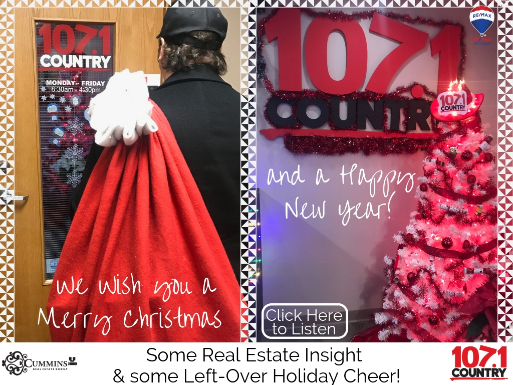 Some Real Estate Insight and Some Left-Over Holiday Cheer!