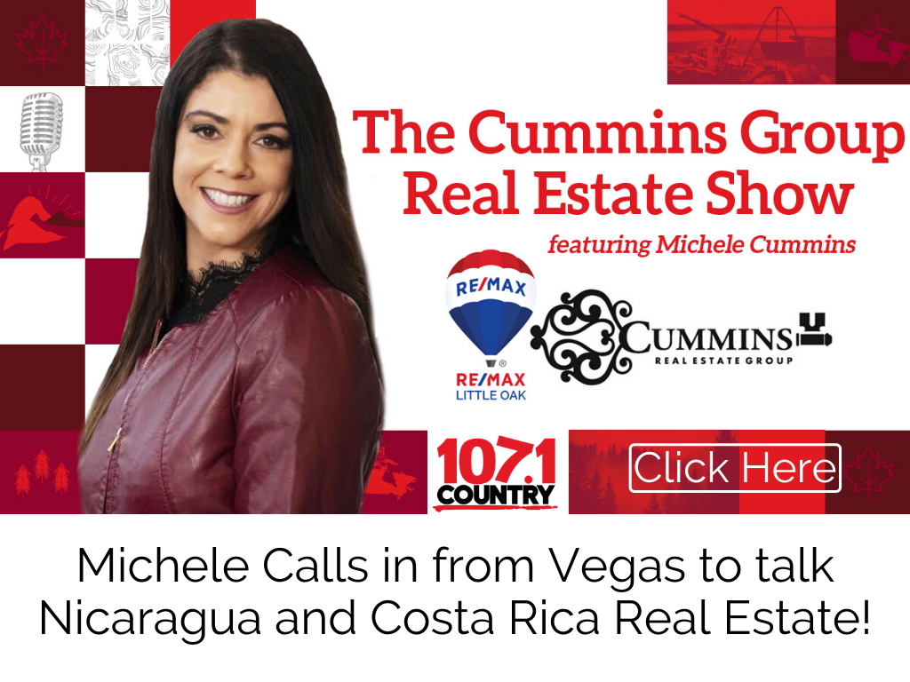 Michele Calls in from Vegas to talk Nicaragua and Costa Rica Real Estate!