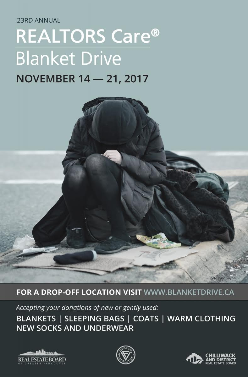 23rd Annual Realtors Care® Blanket Drive
