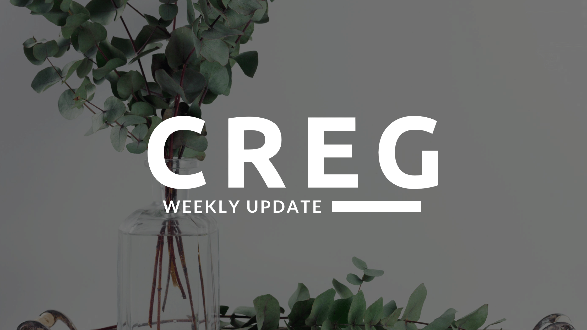 CREG Weekly Real Estate Update!