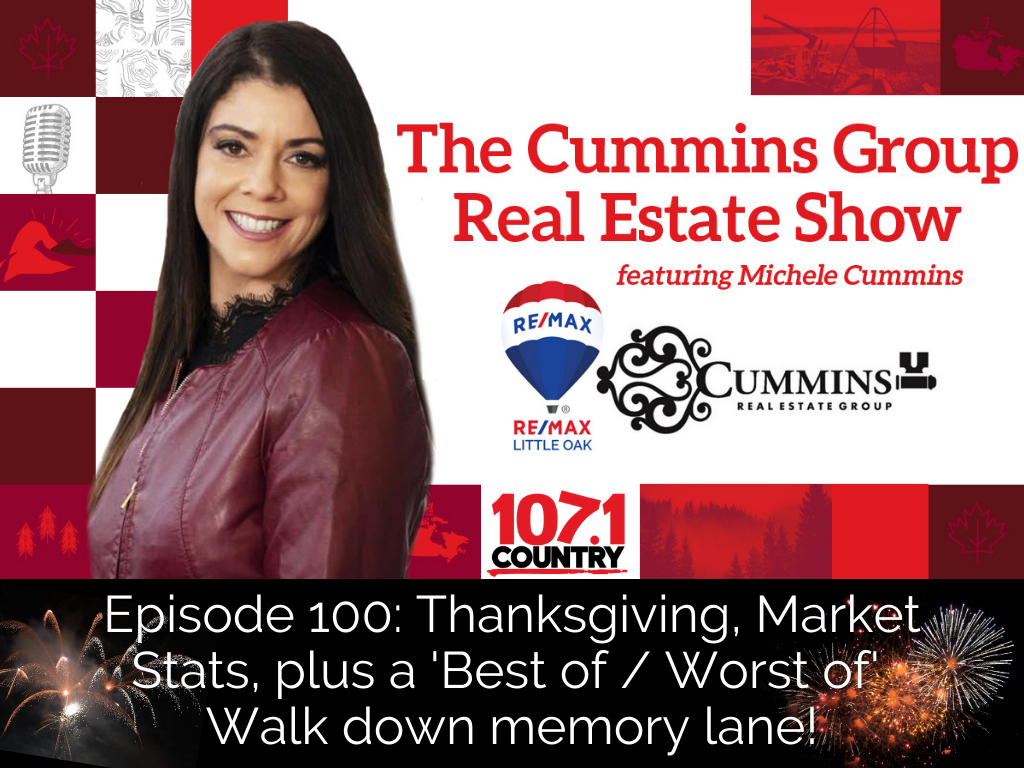 Episode 100: Thanksgiving, Market Stats, plus a