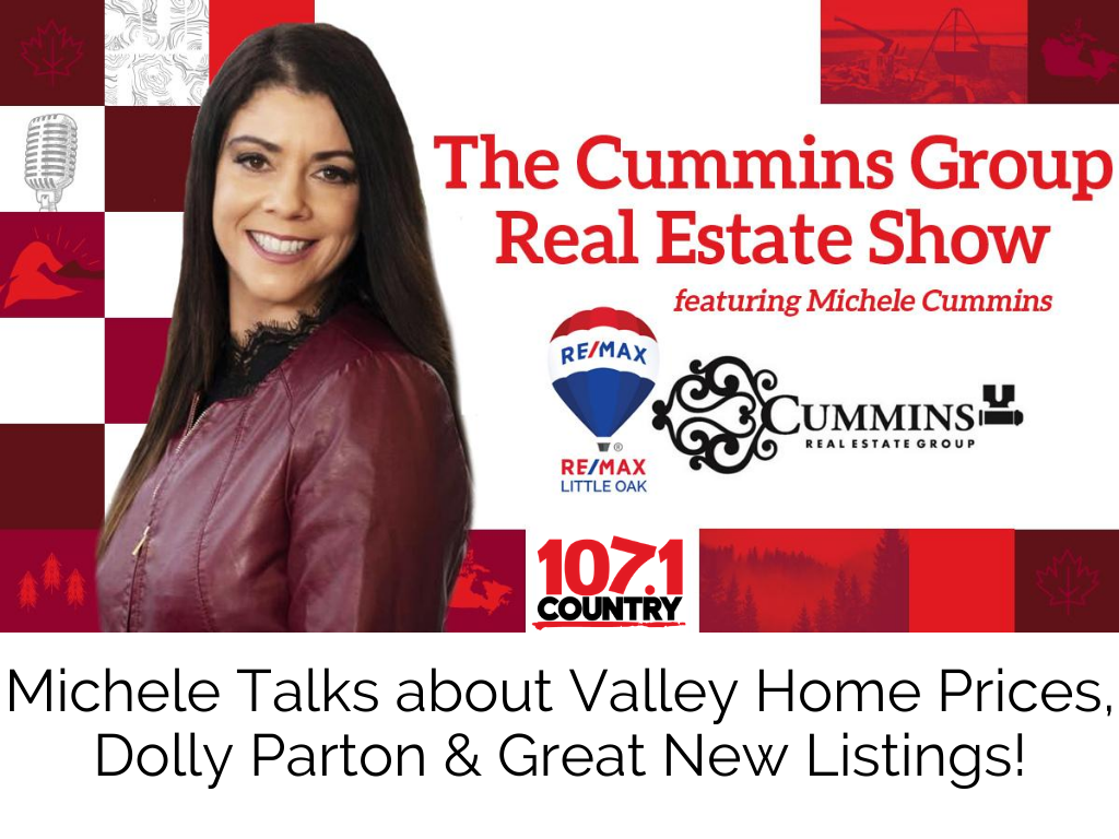 Michele Talks about Valley Home Prices, Dolly Parton and some Great New Listings!