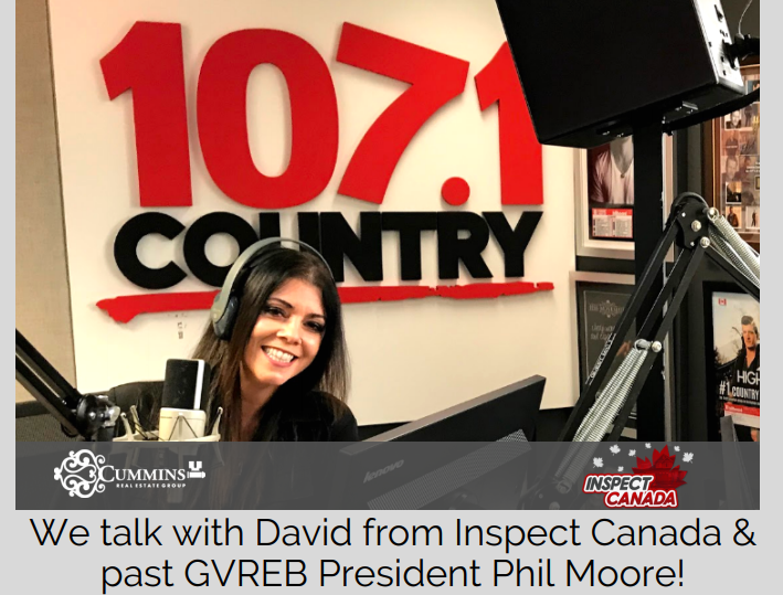 Michele Chats With David of Inspect Canada and Phil Moore about getting a Pre-Inspection