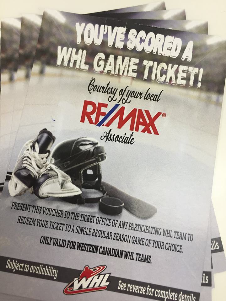 Who Wants to Win 4 WHL Hockey Tickets?!